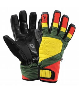 Neff Digger Gloves Rasta