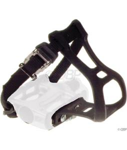 Dimension Toe Clip And Strap Set Black