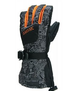 Dakine Yukon Jr Gloves Black Chop Shop