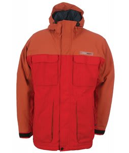 Download DL5 Ski Jacket Orange/Red