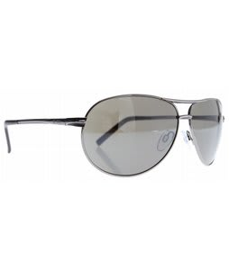 Dot Dash Buford T Sunglasses Charcoal/Grey Chrome Lens