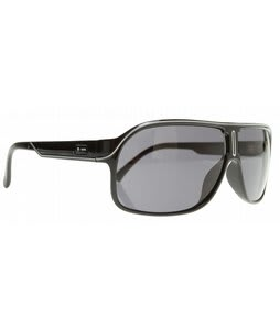 Dot Dash Cannonball Sunglasses Black/Grey Lens