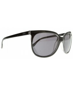 Dot Dash Double Daffy Sunglasses Black/Grey Lens