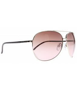 Dot Dash Nookie Sunglasses Gold/Gradient Lens