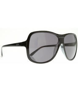 Dot Dash Provocateur Sunglasses Black/Grey Lens