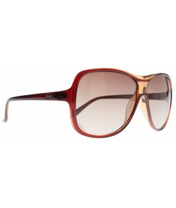Dot Dash Provocateur Sunglasses Brown Tan/Gradient Lens