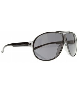 Dot Dash Wanksta Sunglasses Black/Grey Lens