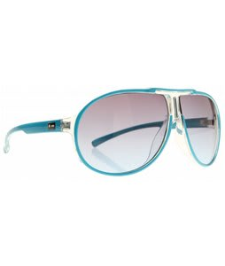 Dot Dash Wanksta Sunglasses Cyan/Gradient Lens