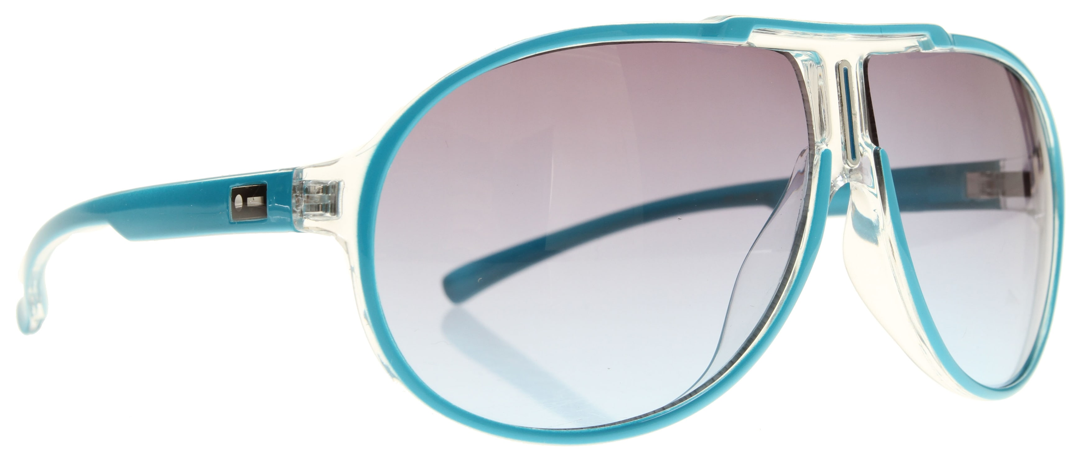 Shop for Dot Dash Wanksta Sunglasses Cyan/Gradient Lens - Men's