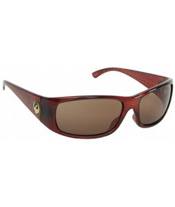 Dragon Dusk Sunglasses Crosshatch/Bronze Lens