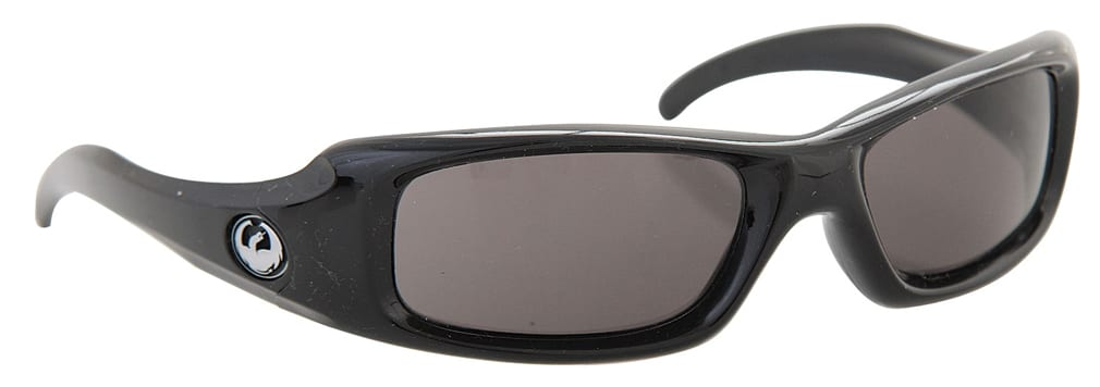 Shop for Dragon Grifter Sunglasses Jet/Grey Lens - Men's
