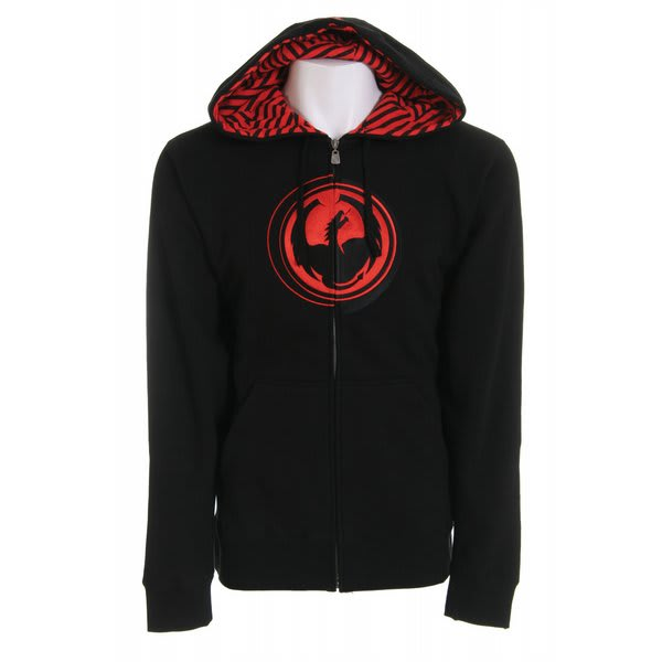 Dragon Stripped Zip Hoodie