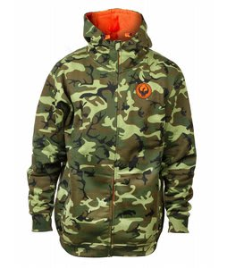 Dragon Blend N 1 Hydro Hoodie Woodland Camo