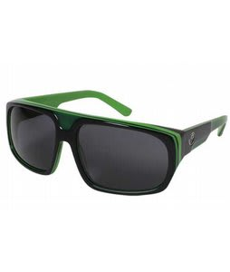 Dragon Blvd Sunglasses Jet Lime/Grey Lens