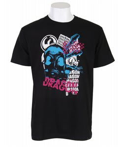Dragon Captain Future T-Shirt Black