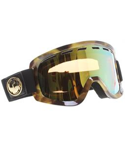 Dragon D1 Goggles Retro Tort/Gold Ionized + Amber Lens