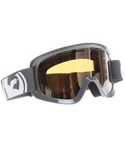 Dragon D1 Goggles Solid Grey/Ionized + Amber Lens