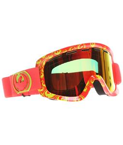 Dragon D1 Goggles Tango Icon/Red Ionized + Amber Lens