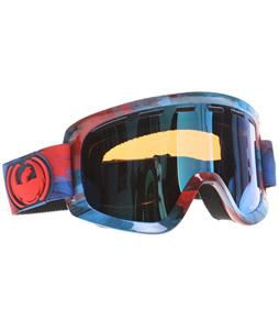 Dragon D1 Goggles Watercolor/Blue Steel + Yellow Ionized Lens