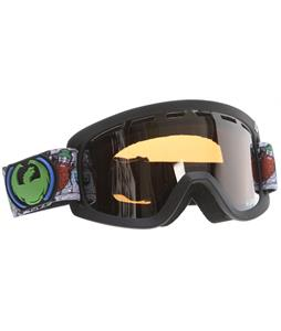 Dragon D2 Goggles Beardfest Dap/Ionized + Yellow Blue Ionized Lens