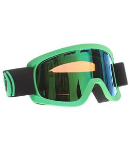 Dragon D2 Goggles Pop Green/Green Ionized + Amber Lens
