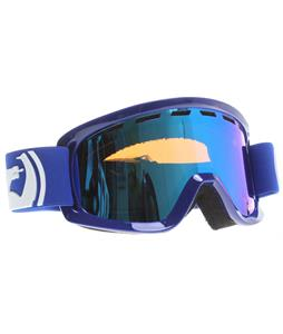 Dragon D2 Goggles Solid Navy/Blue Steel + Amber Lens