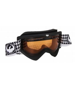 Dragon DX Goggles Coal/Amber/Black Houndstooth