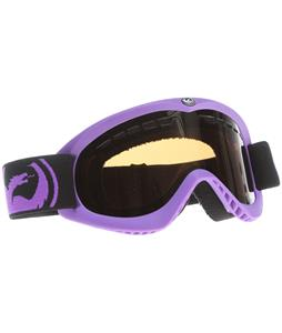 Dragon DX Goggles Pop Purple/Jet + Amber Lens