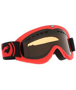 Dragon DX Goggles Pop Red/Jet + Amber Lens