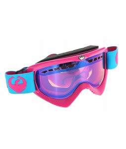 Dragon DXS Goggle Original Gangsta Pink /Blue Ionized Lens