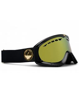 Dragon DXS Goggles Jet Gold/Gold Ionized Lens