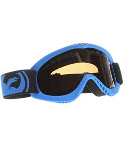 Dragon DXS  Goggles Pop Blue/Jet + Amber Lens