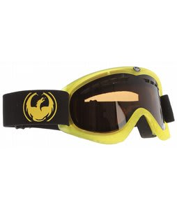 Dragon DXS Goggles Transparent Matte Yellow/Jet Lens