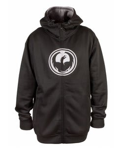 Dragon Icon Hydro Hoodie Black