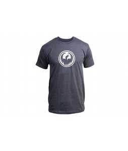Dragon Icon Slim T-Shirt Charcoal Heather