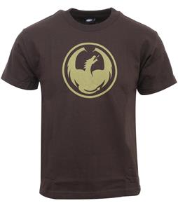 Dragon Icon T-Shirt Dark Chocolate