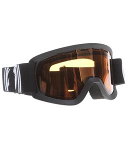 Dragon Lil D Youth Goggles Coal/Amber Lens