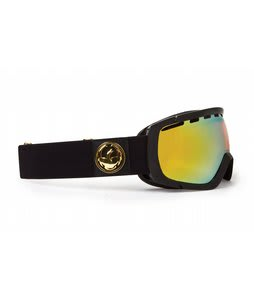 Dragon Rogue Goggles Jet /Gold Ionized Lens