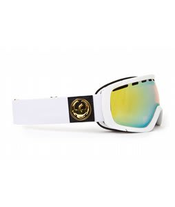 Dragon Rogue Goggles White/Gold Ionized Lens