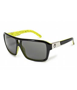 Dragon The Jam Sunglasses Acid Splatter/Grey Lens