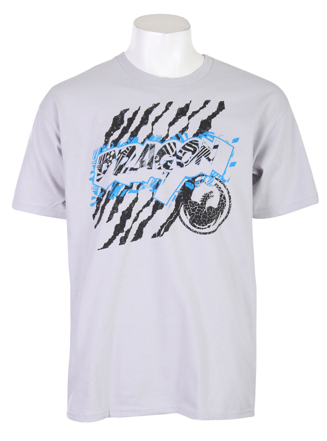 Shop for Dragon Throwback T-Shirt Silver - Men's