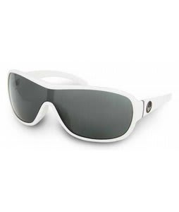 Dragon Transit Sunglasses White/Grey Lens