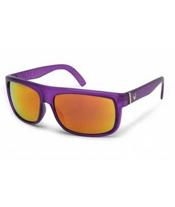 Dragon Wormser Sunglasses Purple Crystal/Red Ion Lens