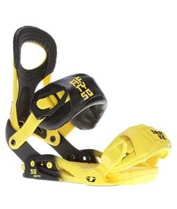 Drake Fifty Snowboard Bindings Yellow/Black