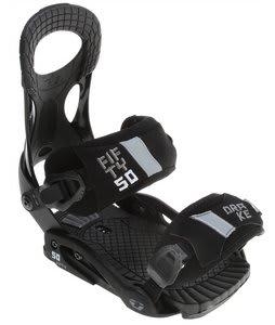 Drake Fifty Snowboard Bindings Black