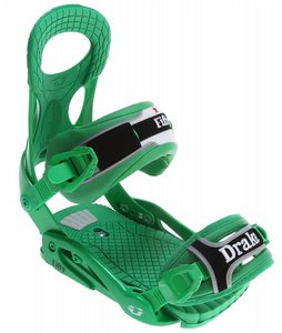 Drake Fifty Snowboard Bindings Bottle Green