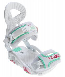 Drake Jade Snowboard Bindings White