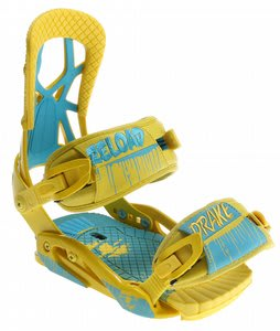 Drake Reload Snowboard Bindings Yellow