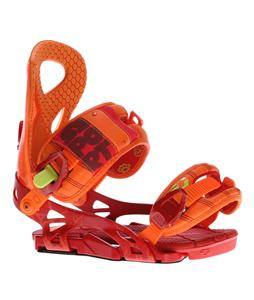 Drake Super Sport Snowboard Bindings Orange