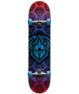 Darkstar Brush Micro FP Skateboard Complete Blue 6.75in